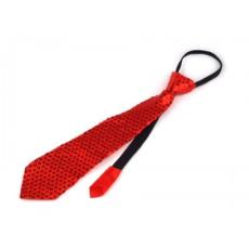 Nyakkendõ flitterekkel - Piros