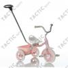 Transporter Passenger szülő vezető karos és szülő fékes tricikli - rózsaszín
