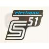 SIMSON UNIVERZÁLIS MATRICA DEKNIRE S51 ELEKTRONIC /KÉK MATT/