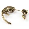 Fülön átugró leopárd fülbevaló