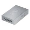 ZyXEL 10/100Mbps Ethernet switch, 2x QoS (!), desktop, metal housing