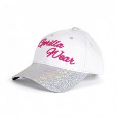 Gorilla Wear Louisiana Glitter Cap White/Pink