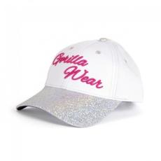 Gorilla Wear Louisiana Glitter Cap White/Pink