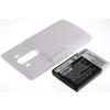 Powery Utángyártott akku LG D855 LTE fehér 6000mAh