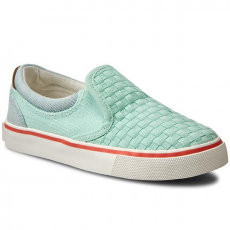 Wrangler Félcipő WRANGLER - Icon Slip On Girl WG16103B Lt. Water Green 382