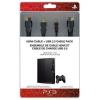 Sony HDMI kábel 1.3 és USB Charging (töltő) kábel 2.0 /PS3