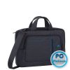 RivaCase 7520 black Laptop Canvas shoulder bag 13,3""