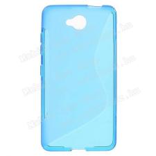 Szilikon védõ tok / hátlap - FÉNYES / MATT - KÉK - MICROSOFT Lumia 650 tok és táska