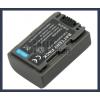 Sony DCR-DVD605E 7.2V 650mAh utángyártott Lithium-Ion kamera/fényképezőgép akku/akkumulátor