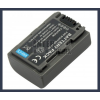 Sony DCR-HC30S 7.2V 650mAh utángyártott Lithium-Ion kamera/fényképezőgép akku/akkumulátor