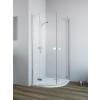 Radaway Fuenta New PDD íves aszimmetrikus zuhanykabin 1000x800x2000