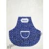 Kötény kékfestő motívumos ÉDESANYÁMNAK hímzett felirattal 60 cm