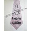 Nyakkendő Legjobb Kolléga felirattal