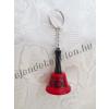 Sex csengő vicces kulcstartó piros 6 cm