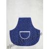 Kötény kékfestő motívumos 60 cm