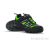 SPIUK Compass Black/Green túra cipő