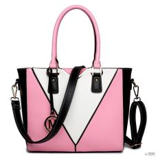 LG1641 - Miss Lulu London V-alak válltáska kézi táska rózsaszín