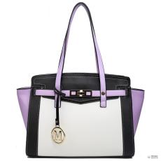 Elle LG1640 - Miss Lulu London ellentét Winged válltáska kézi táska lila