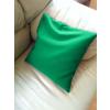 Zöld babzsák párna