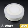 CR80 LED panel (oldalvilágítós) 6+2 Watt - meleg fényű