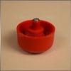 Szintezőláb 27mm Piros