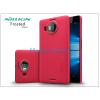 Nillkin Microsoft Lumia 950 XL hátlap képernyővédő fóliával - Nillkin Frosted Shield - piros
