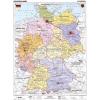 Stiefel Németország, politikai + vaktérkép DUO (német)