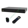 DigiCam DPT-448M PREMIUM 4+1 csatornás rögzítő 4db HD-TVI/analóg és 1db IP kamera kezelése, VGA, HDMI, audio kimenetek, 2db USB, gyári DDNS, egér, távirányító