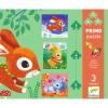 DJECO Nyuszi - puzzle kicsiknek (3-5 db-os)