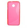 Huawei Ascend Y330, TPU szilikon tok, S-Line, pink