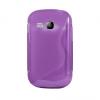 Samsung Galaxy Young S6310, TPU szilikon tok, S-Line, lila