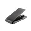 LG Optimus L3 II E430, Lenyitható bőrtok, SLIGO Prémium, felfelé nyíló - kinyitható, fekete