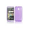 HTC One Mini M4, TPU szilikon tok, S-Line, lila