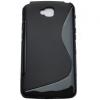 LG G Pro Lite D680, TPU szilikon tok, S-Line, fekete