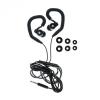 tok-shop.hu Vezetékes sztereó headset, HF SP80, mikrofonos, fekete