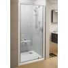 Ravak Pivot PDOP1-90 egyrészes kifelé nyíló zuhanyajtó fehér kerettel, transparent biztonsági üveggel