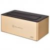 Silverstone SST-TS11G-C USB 3.1 dokkolóegység - arany