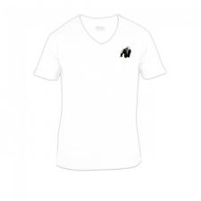Gorilla Wear Essential V-Neck T-Shirt - White női póló