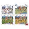 Learning Resources Négy évszak tárgykeresős puzzle - 4 db
