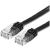 ROLINE Cable ROLINE Patch VALUE UTP CAT6 lapos kivitel, Fekete 5m