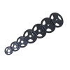 m-tech (O) Season X1002012 30 mm-es, gumis öntöttvas dizájn súlytárcsa, 10kg