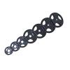 m-tech (O) Season X1002012 30 mm-es, gumis öntöttvas dizájn súlytárcsa, 25kg