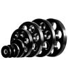 m-tech (O) Season X1002011 Olimpiai, 50 mm-es, gumis 7-lyukú súlytárcsa, 2,5kg