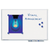 LEGAMASTER Economy Plus mágneses fehértábla (whiteboard) 120x180cm