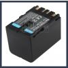 JVC GR-DVL367 7.2V 3400mAh utángyártott Lithium-Ion kamera/fényképezőgép akku/akkumulátor