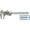 MIB tolómérő, digitális, rozsdamentes, DIN 862