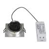 Schrack Technik SHRACK TECHNIK NEW TRIA LED DL SQUARE SET, csiszolt alumínium, 6W,3000K,38°- LI113916