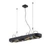 Schrack Technik AIXLIGHT R LONG, QRB111, kerek, fekete, G53, max. 4x50W - LI159070 világítás