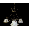 Tilago Parma 161 Chandelier with 3 brand., E14 3x40W