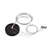 Schrack Technik LI135254  suspension set for 1-10V MEDO LED, 5-core, silvergrey